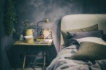 Māksla līdzās miegam: oriģināli sienu noformējumi guļamistabā