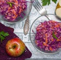 Sarkano kāpostu salāti