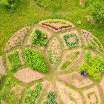 ФОТО: Как рижане своими руками маленький садик на Луцавсале создавали