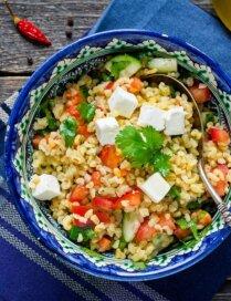 Tabbouleh salāti ar bulguru