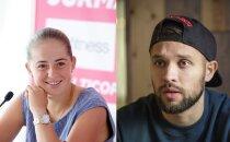 Latvijas sporta jaunais 'saldais pārītis' – Ostapenko un Karašausks