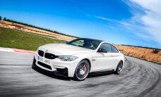 'BMW M4' speciālajā versijā 'Competition Sport'