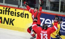 Lietuvas hokejisti izcīna otro graujošo uzvaru pasaules čempionātā