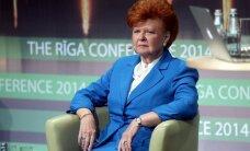 Vīķe-Freiberga: Latvijā redzamā savas valsts noniecināšana ir pretlatviska un kaitīga