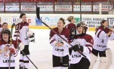 Latvijas hokejistes olimpiskajā kvalificijā spēlēs pret Franciju, Ķīnu un pirmās kārtas veiksminieci