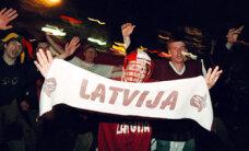 Latvijas hokejisti cīnās neizšķirti ar Vāciju