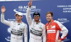 Hamiltons uzvar arī Austrijas 'Grand Prix' kvalifikācijā