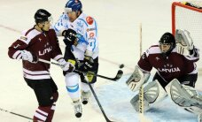Latvijas hokejisti negūst vārtus pārbaudes spēlē pret Somiju