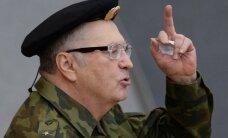 Krievu interneta hits: Žirinovskis stāsta anekdoti