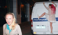 Foto pērles: Krievijas un citu zemju daiļavas plosās vecmeitu ballītēs