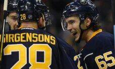 Girgensonam rezultatīva piespēle 'Sabres' zaudējumā Detroitas 'Red Wings'