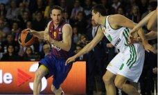 'Barcelona' Latiševa tiesātajā mačā iekļūst Eirolīgas 'Final Four'
