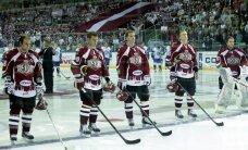 Rīgas 'Dinamo' viesos skaisti uzvar KHL debitantus 'Medveščak'
