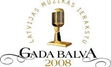 Pasniegs Latvijas Mūzikas Ierakstu Gada balvu 2008