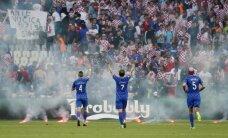 За действия своих фанатов Хорватский союз оштрафован на 100 тысяч евро