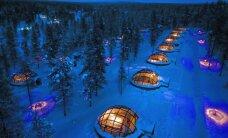 Visvēsākā uzņemšana - pasaules brīnumainākās ledus un sniega viesnīcas