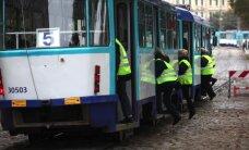'Rīgas satiksme': 'zaķus' izskaust nevar