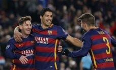 Mesi atgriežas ar diviem gūtajiem vārtiem; 'Barcelona' un 'Bayern' pārvar Čempionu līgas grupu turnīru