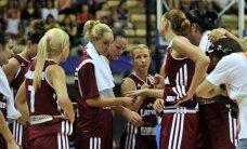 Latvijas basketbolistes pārbaudes spēļu turnīrā pieveic mājinieces čehietes