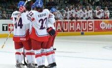 Čehijas hokeja izlase uz pasaules čempionātu dodas ar septiņiem NHL spēlētājiem