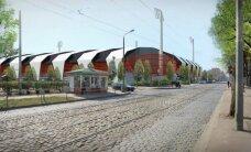 Jauno futbola stadionu Kr. Barona ielā cer atklāt 2017. gada 1. jūnijā
