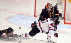 Latvijas hokeja izlase svarīgā PČ spēlē tiekas ar Vāciju