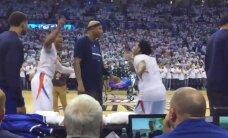 'Mavericks' spēlētāju nokaitina 'Thunder' līdera Vestbruka dejošana pirms spēles