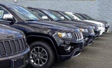 'Fiat Chrysler' atsauc vairāk nekā 1,1 miljonu automašīnu