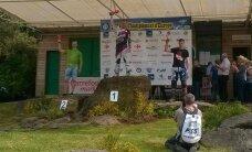 Kristers Einass uz pjedestāla Eiropas mototriāla čempionāta posmā Francijā