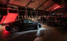 Latvijā prezentēts jaunais 'Audi R8' superauto