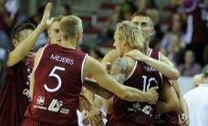 Latvijas vīriešu basketbola izlase pakāpusies pasaules rangā