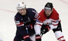 Kanādas hokejisti uzvar ASV un iekļūst pasaules čempionāta finālā