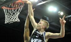 'VEF Rīga' pārspēj 'Bisons' komandu, saglabājot cerības uz Vienotās līgas izslēgšanas turnīru