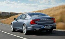 'Volvo' oficiāli atklājis savu jauno flagmani 'S90'