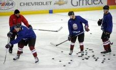 Vairāki Rīgas 'Dinamo' un citi Latvijas hokejisti jau uzsākuši treniņus valstsvienībā