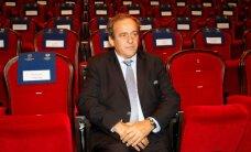 Platinī atmet domu par kandidēšanu uz FIFA prezidenta amatu