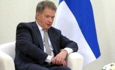 Migrantu pieplūdums apdraud Eiropas vērtības, pārliecināts Somijas prezidents