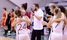 Latvijas U-16 basketbolistes iekļūst Eiropas čempionāta ceturtdaļfinālā