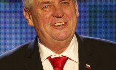 Provizoriskie rezultāti: par pirmo tautas vēlēto Čehijas prezidentu kļuvis Zemans
