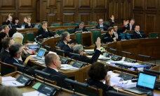 Saeimas komisija lems par deputātu administratīvās imunitātes atcelšanu