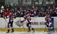 'Rīgas' hokejisti izbraukumā pieveic 'Atlanti' vienību