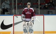 Latvijas hokeja izlase izbraukumā atkārtoti spēkojas ar Dānijas valstsvienību
