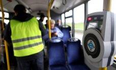 Rīgā maijā visvairāk bezbiļetnieku sodīts 15. trolejbusa maršrutā