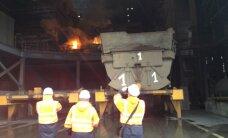 'Liepājas metalurgs' atkal aptur ražošanu un atlaiž darbiniekus (plkst.15.18)
