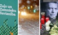 11 января. СЗК назвал кандидата в премьеры, Латвию заметает снегом, скончался Дэвид Боуи