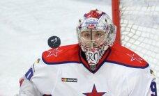 CSKA vārtsargs Sorokins labojis Skudras 'sauso' minūšu rekordu