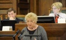 Saeimas komisija vēl nepiekrīt NSL deputātes Šimfas administratīvai sodīšanai