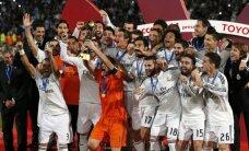 Madrides 'Real' triumfē FIFA Klubu pasaules kausā, iegūstot ceturto titulu šogad