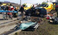 Полиция ищет свидетелей трагической аварии на Юрмалас гатве
