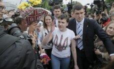 Savčenko mudina Krievijas iedzīvotājus 'piecelties no ceļiem'